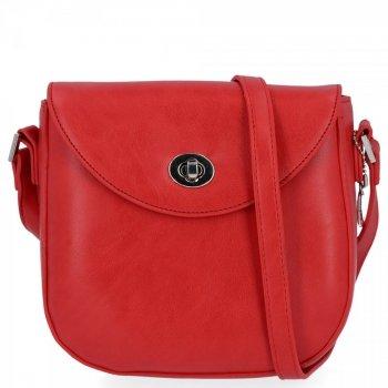 Uniwersalne Listonoszki Damskie na każdą okazję firmy Diana&Co Czerwona