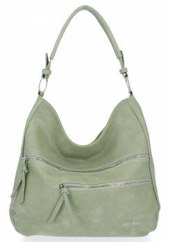Bee BAG Universal Felicia Dámske tašky sú ideálne pre každodenný život svetlo zelené