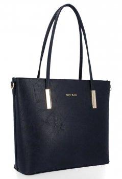 Bee BAG klasické Florence dámske tašky vo veľkosti L granát