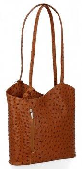 Talianska Kožená taška z pravej kože