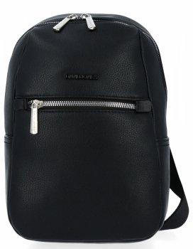 Univerzálny pánsky jednoramenný batoh David Jones čierny
