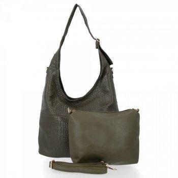 Univerzálna dámska taška Grace tašky Zelená
