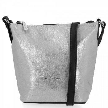 Módna dámska taška David Jones Silver