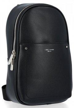 Elegantné a značkové pánske batohy David Jones čierny