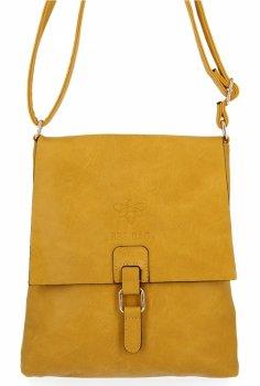 BEE Bag štýlové dámske Crossbody tašky Sevilla Žltá