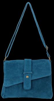 Univerzálna Kožená taška na messenger od spoločnosti Vittoria Gotti pre všetky príležitosti