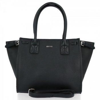 David Jones Firemná Klasická dámska taška čierna