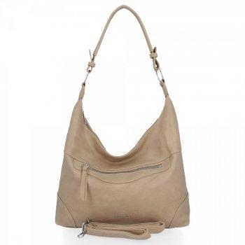 BEE BAG univerzálne dámske ležérne tašky Laida tmavo béžové