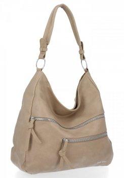 Bee BAG universal Felicia dámske tašky sú ideálne pre každodenné tmavo béžové