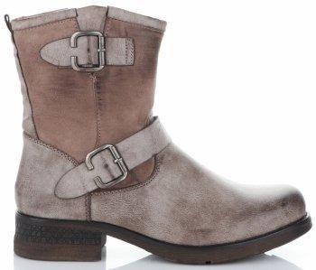 Dámske členkové topánky s prackami značky Lady Glory khaki