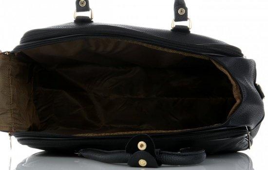 Průměrná cestovní taška kufřík Or&Mi černá