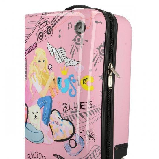 Módní Palubní kufřík pro děti Madisson multicolor - růžový