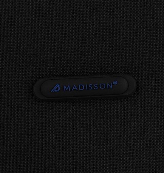Kufry renomované firmy Madisson Sada 2 v1 Černá