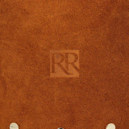Módní Dámské Kabelky boho style Roberto Ricci Přírodní semiš/Ekologická kůže Zrzavá