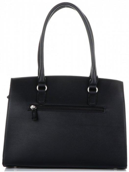 Elegantní Dámská kabelka kufřík David Jones černá - Panikabelkova.cz 93db6c4cb2f