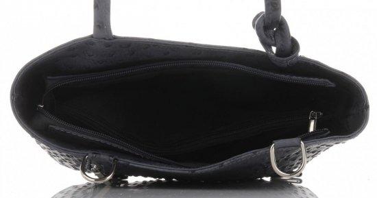 Klasické Kožené Kabelky Genuine Leather Šedá