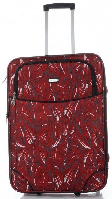Unikatowy Zestaw Walizek 4w1 renomowanej marki Madisson Multikolor - Czerwony