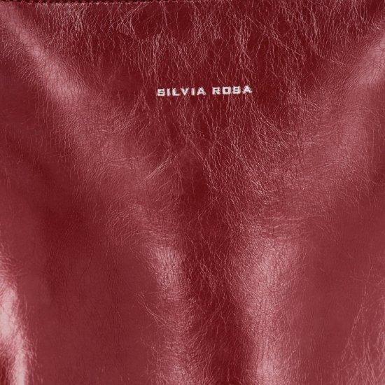 Modne i Uniwersalne Torebki Damskie z kosmetyczką firmy Silvia Rosa Czerwona