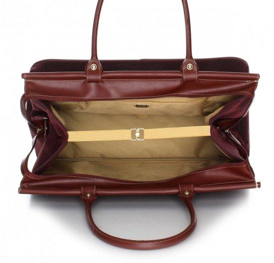 Solidna torba podróżna David jones Fioletowa