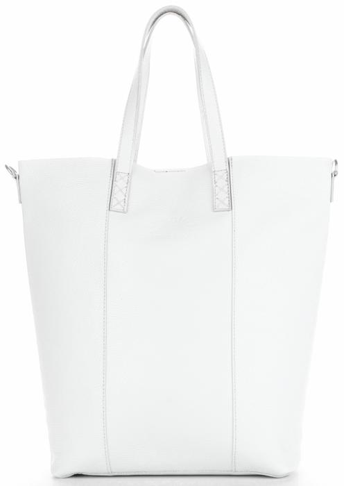 Vittoria Gotti Firmowy Shopper Made in Italy z Kosmetyczką Biały