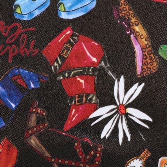 Mała Torba Podróżna Kuferek Or&Mi Shoes Multikolor - Czarna