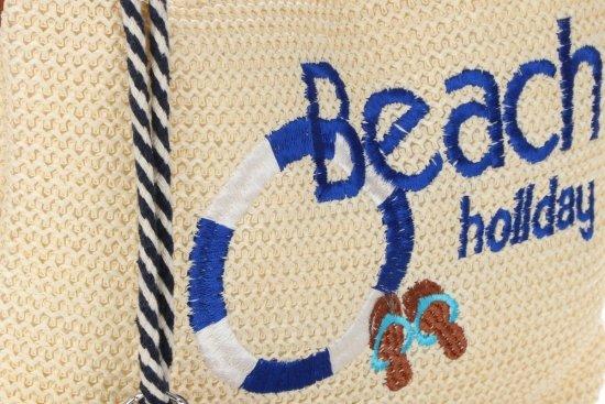 Torebki Damskie Listonoszki Beach Holiday firmy David Jones Beżowa