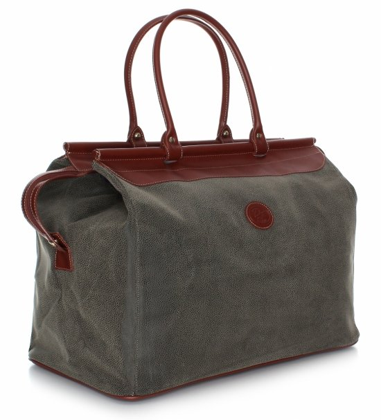 Solidna torba podróżna David jones Zielona