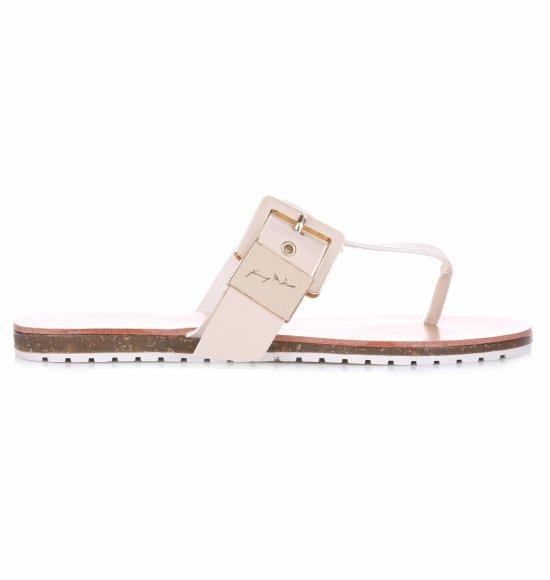 Sandały Damskie Beżowe