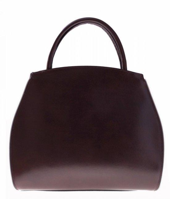 Taška je kožená taška s možnosťou rozšírenia čokolády