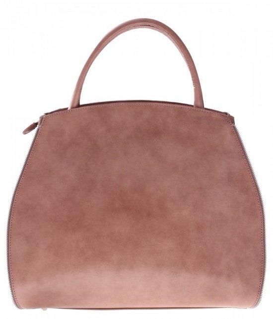 Taška je kožená taška s možnosťou rozšírenia bez