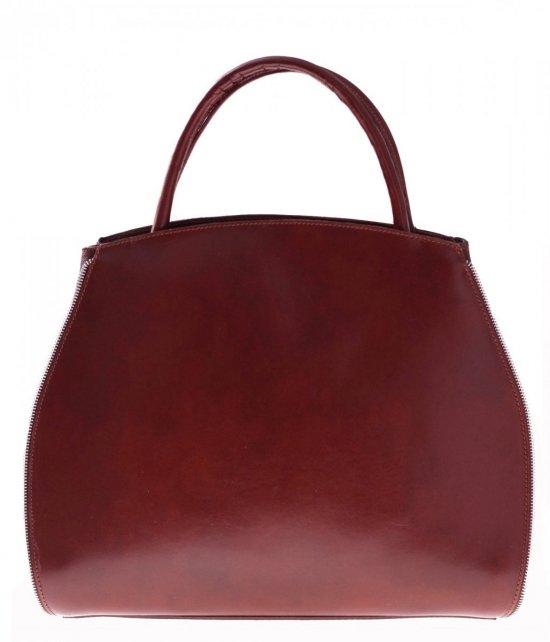 Taška je kožená taška s možnosťou rozšírenia bronzu