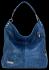 Vittoria Gotti Univerzální Kožené Dámské Kabelky motiv želvy Jeans
