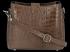 Kožená Kabelka listonoška Vittoria Gotti s motivem aligátora Zemitá