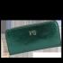 Luksusowe Skórzane Portfele Damskie firmy Vittoria Gotti Made in Italy Butelkowa Zieleń