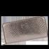 Luksusowe Skórzane Portfele Damskie firmy Vittoria Gotti Made in Italy Stare Złoto