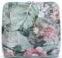 Torebka Skórzana firmy Vittoria Gotti Mała Włoska Listonoszka w modne wzory Kwiatów Błękitna