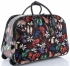 Torba Podróżna na kółkach ze stelażem Shoes Bags&More Or&Mi Multikolor Czarna