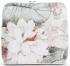 Torebka Skórzana firmy Vittoria Gotti Mała Włoska Listonoszka w modne wzory Kwiatów Biała