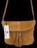 Uniwersalna Listonoszka Skórzana na co dzień w rozmiarze M firmy Vittoria Gotti  Jasno Ruda