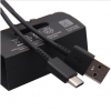 Oryginalny Kabel Samsung Fast Charge TYP C EP-DG970BBE USB C typ C 100cm Galaxy S10 S10+ S10E  Czarny