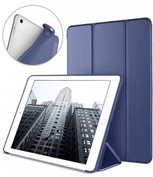 EasyAcc Smart Case Cover Etui Futerał - iPad 9.7 2017/2018 (midnight blue)