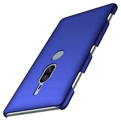 Etui Case Plecki Hard Cover - Sony Xperia XZ2 Premium (smooth blue)