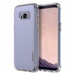EasyAcc Case Shockproof Protective Dual Layer Bumper TPU + PC Etui Slim Armor Samsung Galaxy S8 (blue)