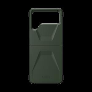 UAG Civilian - obudowa ochronna do Samsung Galaxy Flip 3 (zielony)