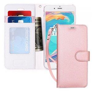 FYY Etui book case ze smyczką - iPhone 6+/6S+ (5.5) (różowy)
