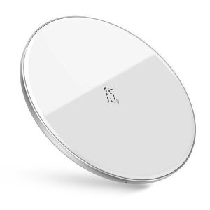 BASEUS SIMPLE 15W WIRELESS CHARGER WHITE