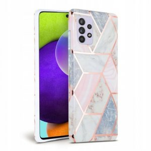 TECH-PROTECT MARBLE GALAXY A72 PINK