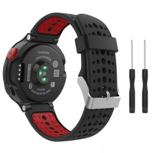 TECH-PROTECT SMOOTH GARMIN FORERUNNER 220/230/235/630/735 BLACK/RED