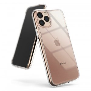 Ringke Fusion etui pokrowiec z żelową ramką iPhone 11 Pro Max przezroczysty (FSAP0042)