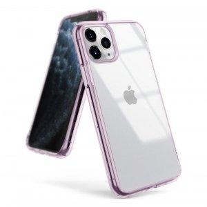 Ringke Fusion etui pokrowiec z żelową ramką iPhone 11 Pro Max fioletowy (FSAP0048)